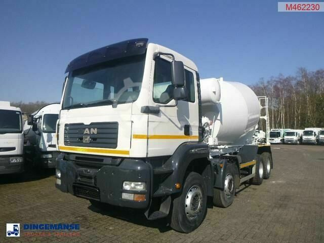 MAN TGA 33.350 8x4 concrete mixer
