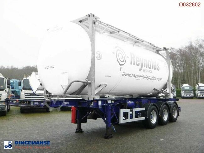 M & G 3-axle container trailer 20-30 ft