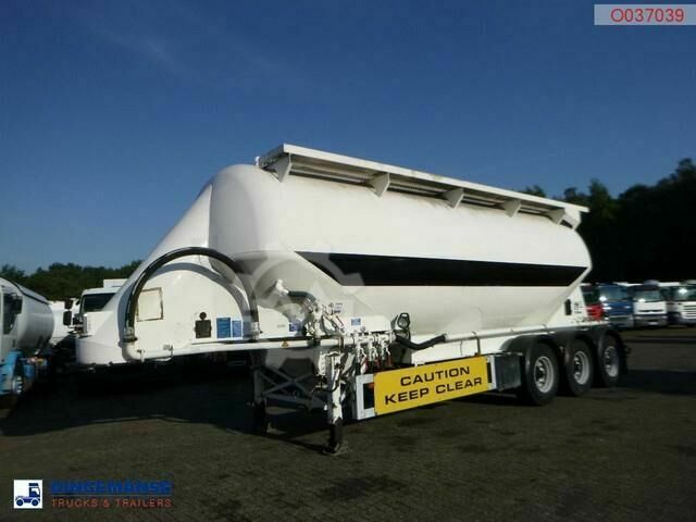 Feldbinder Powder tank alu 40 m3 / 1 comp