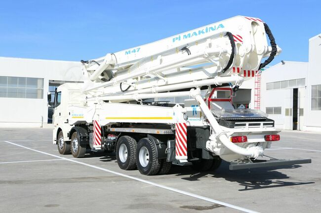 Pi Makina Concrete Pump 47 meter