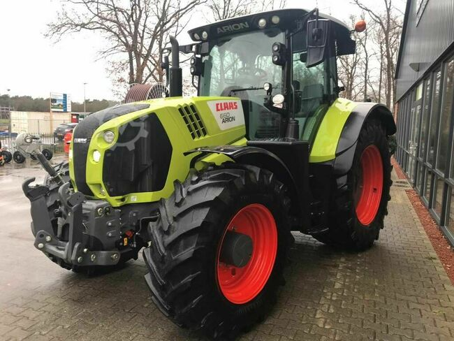 Claas Arion 660 C-matic