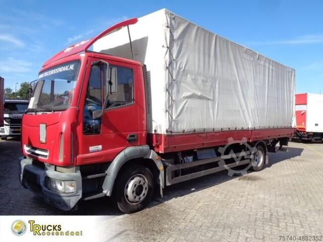 Iveco Eurocargo 140E24 6 cylinders manual lift