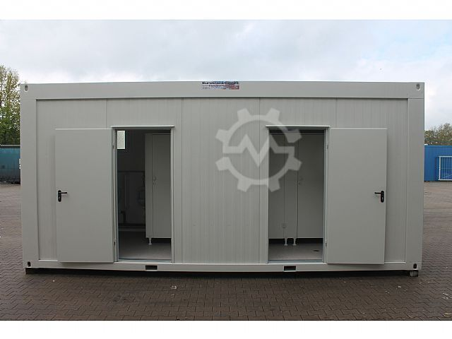 Sonstige/Other 20ft WC-Container D/H neu