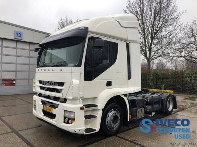 Iveco Stralis AT440S33T/P CNG / LNG 2013 intarder Mautvr