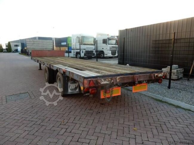 Van Hool Lowloader / Steel suspension / Double montage / Tw