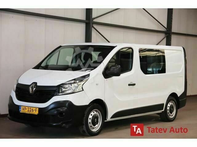 Renault Trafic 1.6 dCi DUBBEL CABINE AIRCO TREKHAAK