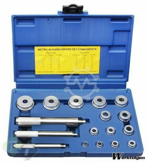 Trailer And Tools Lager montage set, 17 delig