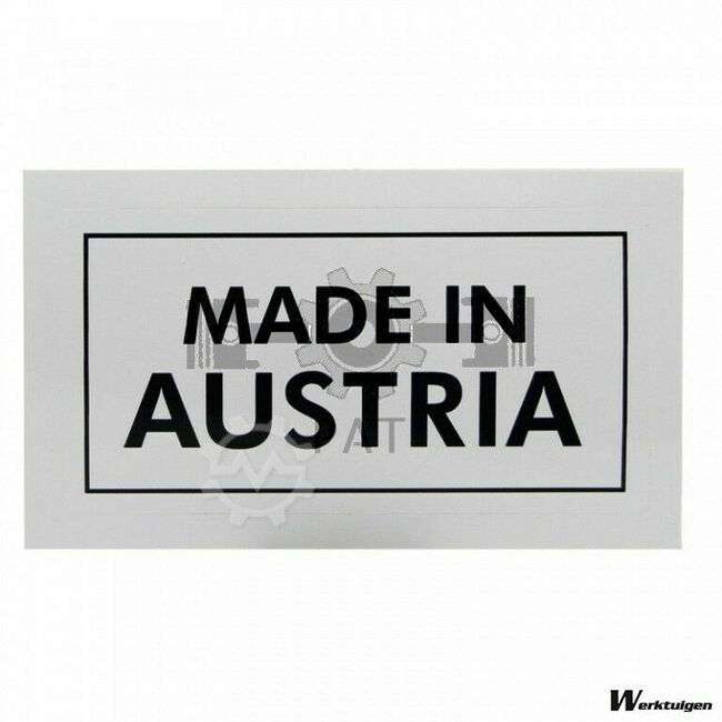 Steyr Sticker Made in Austria