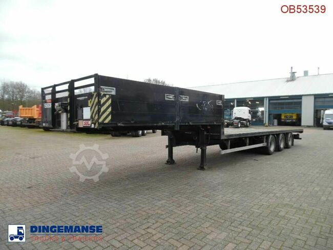 SDC 3-axle semi-lowbed container trailer 10-20-30 ft