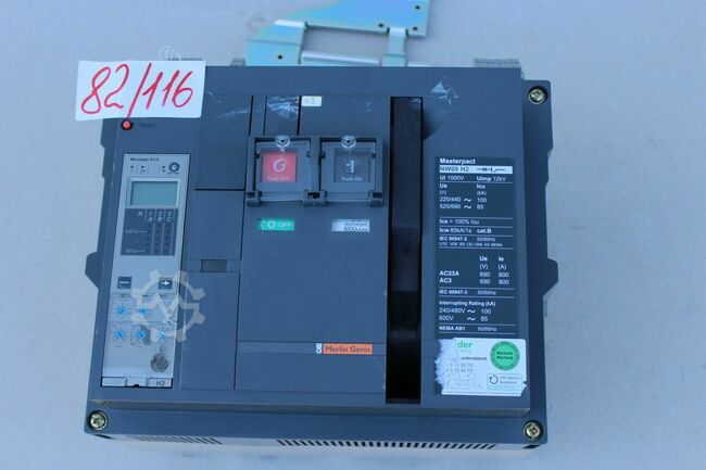 Merlin Gerin  Masterpact NW 08 H2
