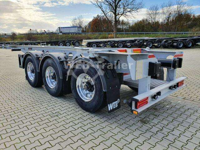 Web Trailers TRAILER COS 24 Tankcontainer Chassis QSTE 690