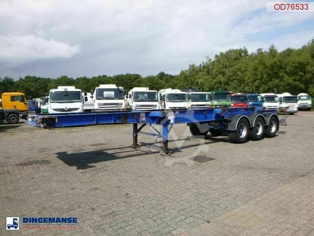 Sdc 3 axle container trailer 20 30 40 ft