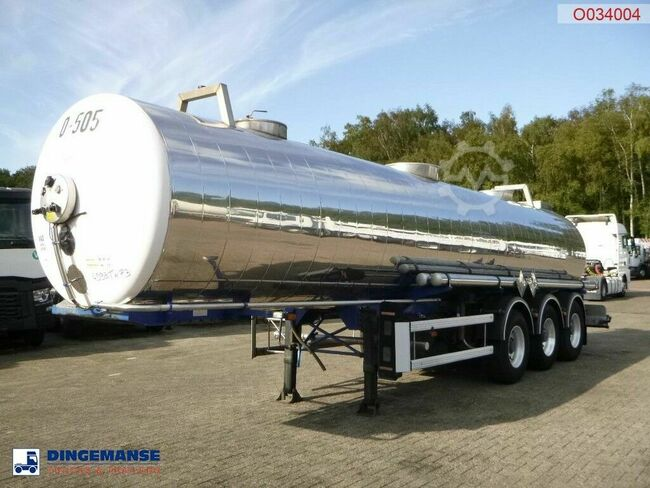 Guhur Chemical tank inox 22.2 m3 / 1 comp