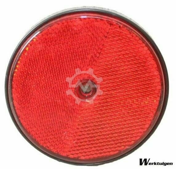 Trailer And Tools Reflector Rood rond 85 mm