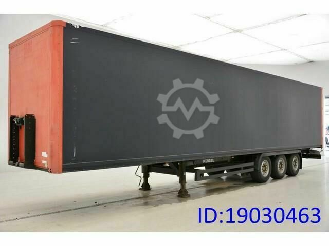 Kögel Box semi trailer