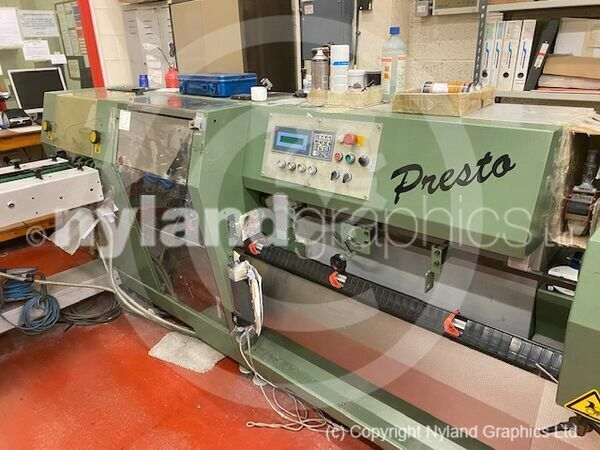 Muller Martini Presto saddle stitcher 1550 - 1996