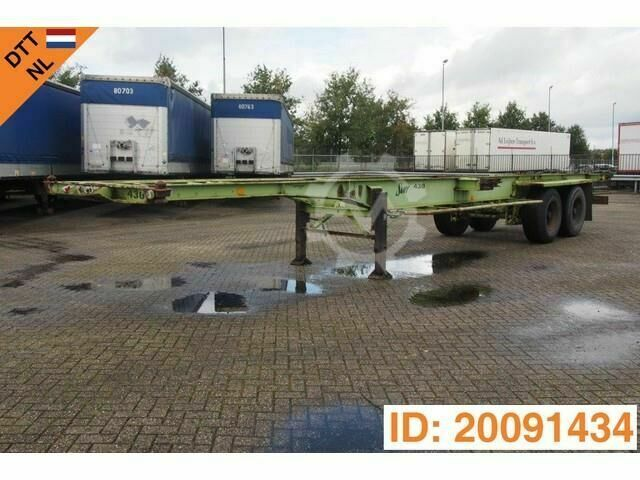 Van Hool 2 x 20 40 ft skelet