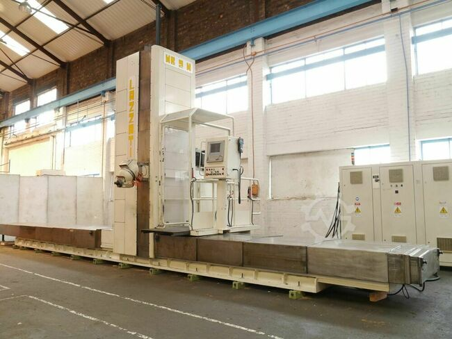 LAZZATI HB2M 5 Axis CNC Travelling Column Miller with Selca S3045 Control (Heidenhain Compatible)