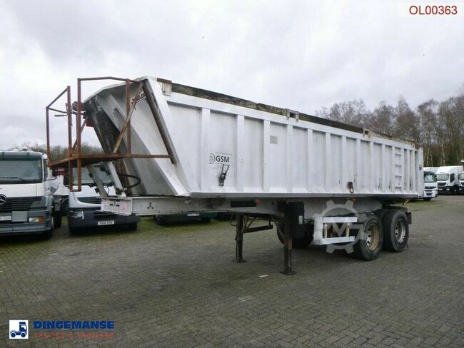 Trailor Tipper trailer alu 21 m3