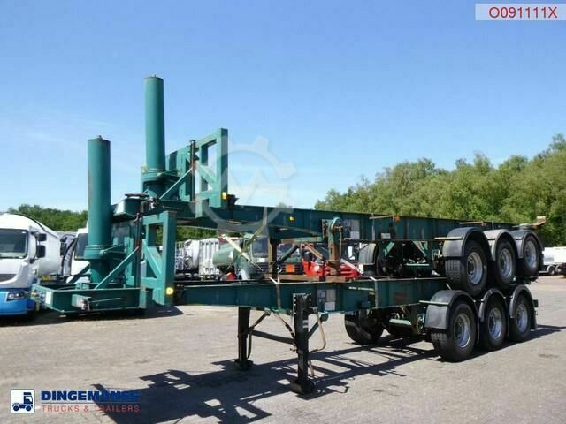 Sonstige/Other Tinsley Stack 2 x 3 axle container trailer (tip