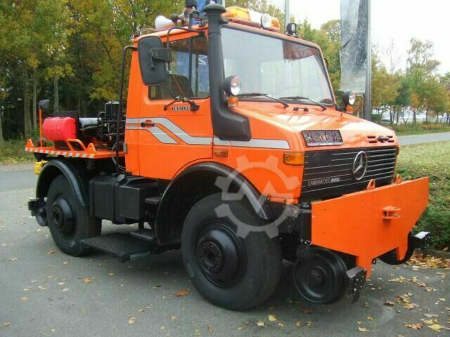 Unimog U 1400 Road and Rail