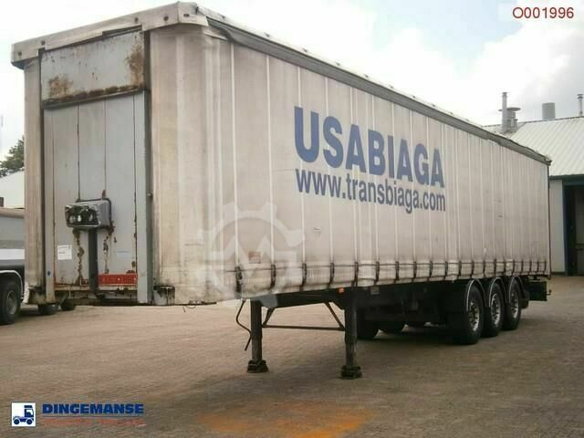 Samro Curtain box trailer 88.5 m3 / 36500 kg
