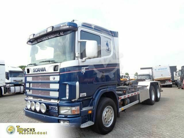 Scania 114G 380 Manual Chain system PTO