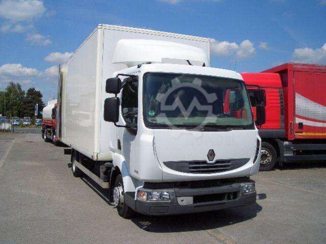 Renault DXI 190.08 L Haus Möbelkoffer Nutzlast 2.190 E4