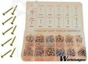 Trailer And Tools 350 Delige parker assortiment