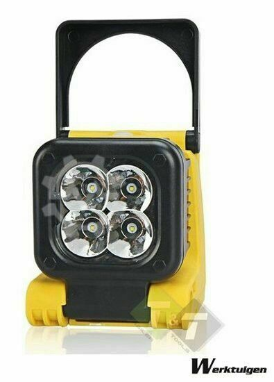 Trailer And Tools Werklamp, 4 LED's, Buigbare bouwlamp