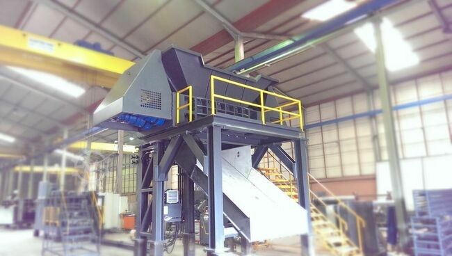Aymas Recycling Machinery SH 360 Double Shaft Shredder