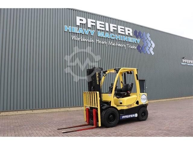 Hyster H3.0FT Valid inspection, *Guarantee! Diesel, Tripl