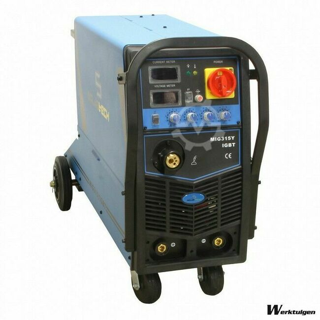 Soldatech Inverter CO2 Lasapparaat MIG/MMA 315A