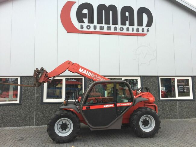Manitou MVT 628 turbo