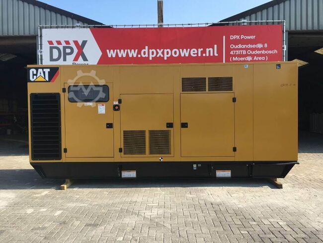 Caterpillar 3412 - 800F - 800 kVA Generator - DPX-18031