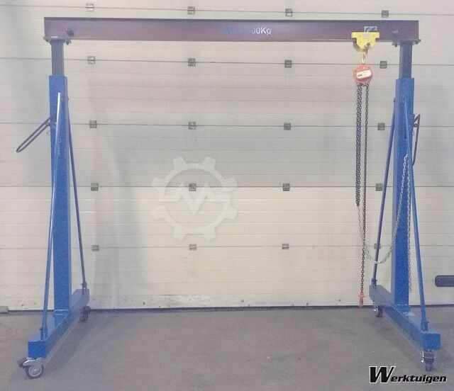 Everlift Verstelbare portaalkraan, 1-ton Heavy Duty 3500 mm