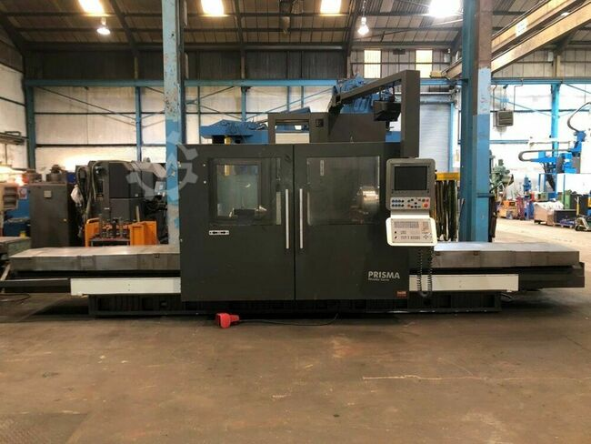 CORREA Prisma 25 CNC Bed Miller. X = 2500mm, Y = 1000mm, Z = 1000mm. Heidenhain iTNC Control. Manufactured 2006