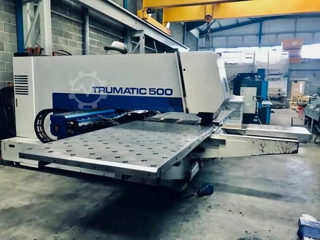 TRUMPF Trumatic 500 22 ton, 20 Station CNC Turret Punch
