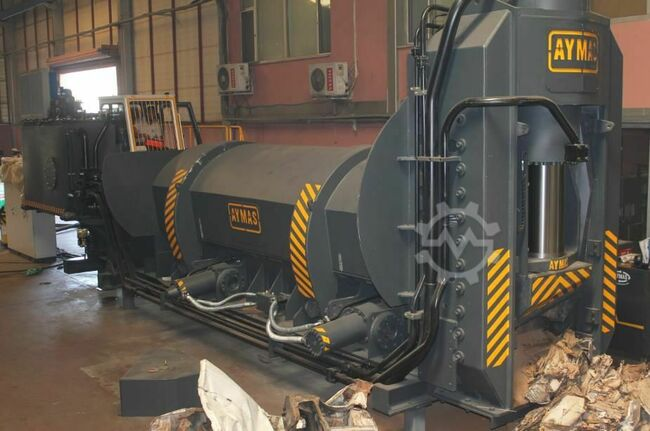 Aymas Recycling Machinery SB 630T Shear Baler