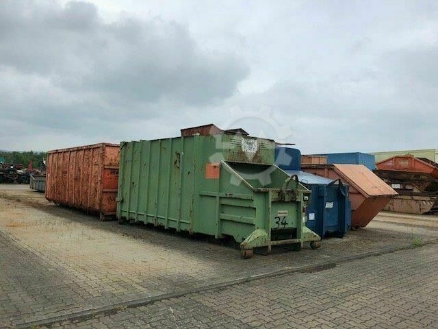 Sonstige/Other Andere Abrollcontainer HGN 20 Press KAPWERTH HGN