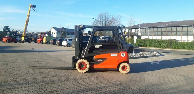 Linde E50HL  only 202 hours!