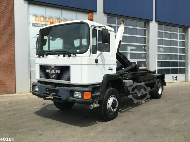 MAN 17.232 FA 4x4 Euro 1 Manual Full steel