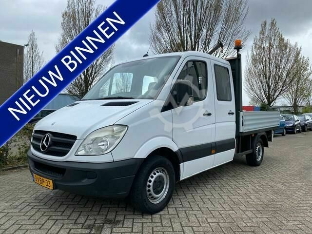 Mercedes-Benz Sprinter 311 2.2 CDI 366 DC pick up / Met hiab kra
