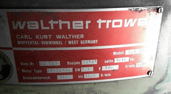Walther Trowal CLS 230