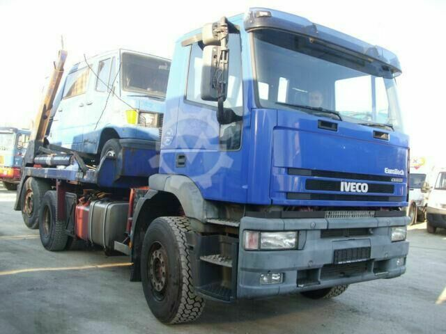 Iveco MP260 E43, Atlasabsetzkipper , EURO3, German