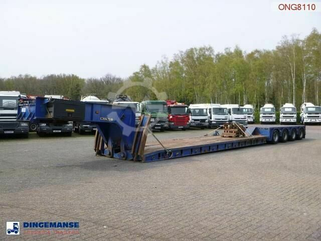 Sonstige/Other King 4 axle lowbed trailer 104 t / 9.6 m / 4 stee