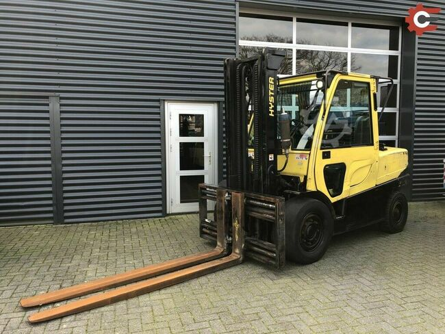Hyster H5.5FT 6-cil.,2014 Integrale vorkenversteller+side