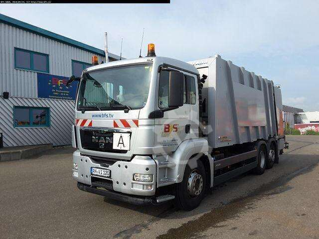 MAN TGS 26.320 6X2 2 BL Sperrmüll FAUN POWERPRESS 52