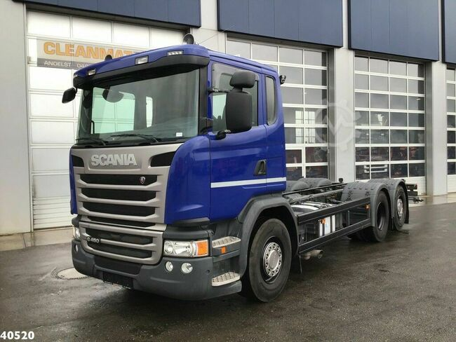 Scania G 450 Euro 6 Chassis