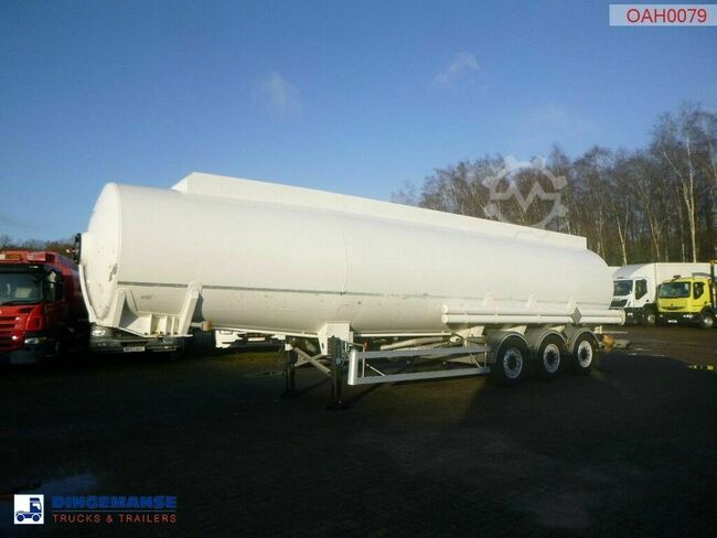 Magyar Fuel tank trailer alu 43.2 m3 / 8 comp + counter